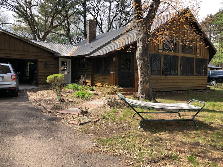 Lake property with view & water access on 2 sides