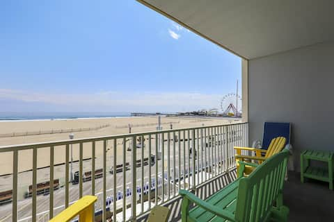 Belmont Towers 302 - Direct Oceanfront on Boardwalk!
