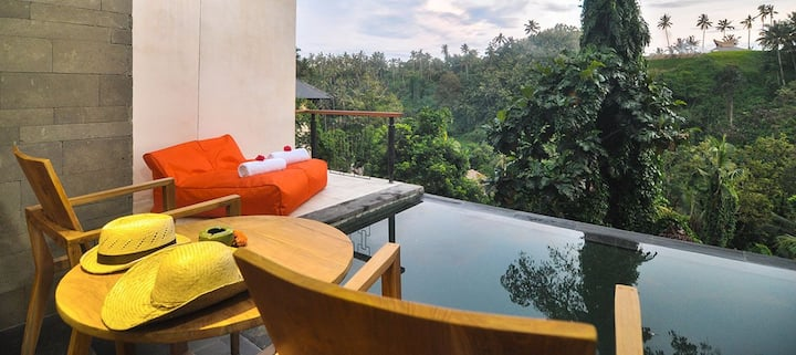 One bed room valley pool villa