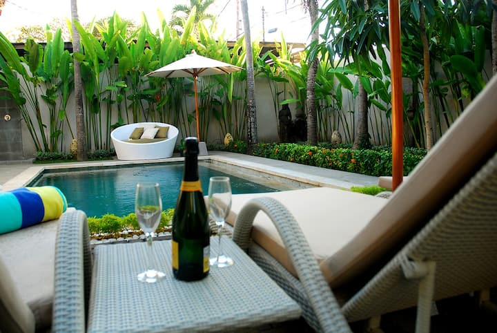 Villa Rosa Sanur Bali,3 Bedrooms with Private Pool