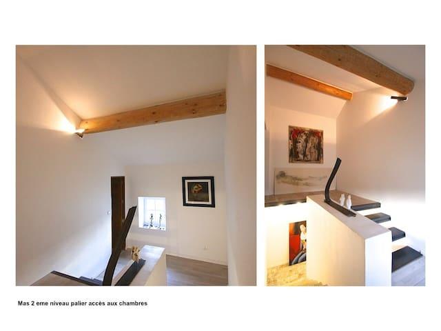 Provence Art of living  Artists mas 300 m2 & Pool - Camaret-sur-Aigues - Townhouse