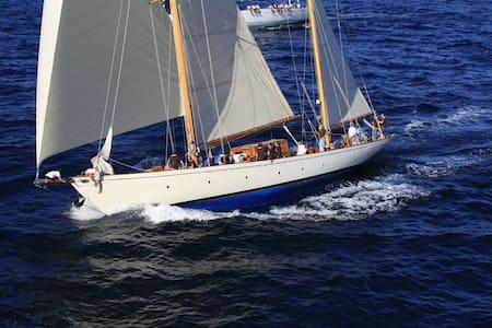 Main Guest Cabin, Classic Sailing Yacht L'Odyssée - Lepetane