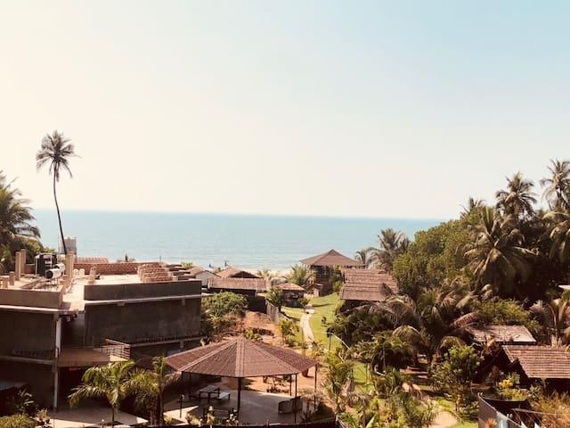 Luxury Sea View room at Arambol