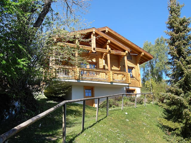 Ferienhaus Digitalis in Nendaz