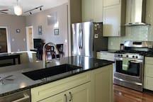 Enjoy granite counter tops, brand new stainless steel appliances.