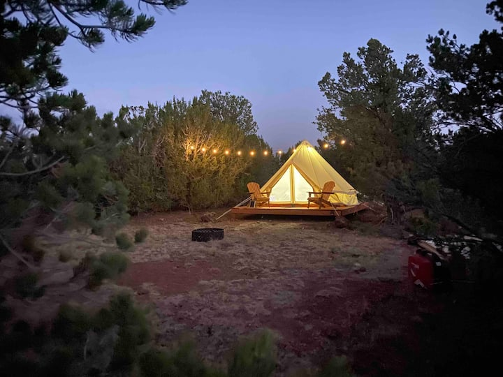 Grand Canyon- Fireside Yurt Village (3)