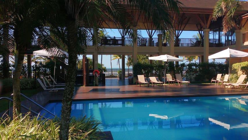 Guarujá: Loft Beira Mar Estilo Bali