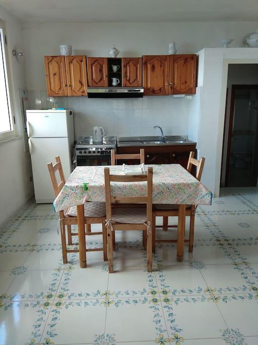 living e cucina