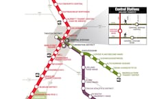 Here is a preview of the metro rail system to utilize the bus stops. You can find more information online.