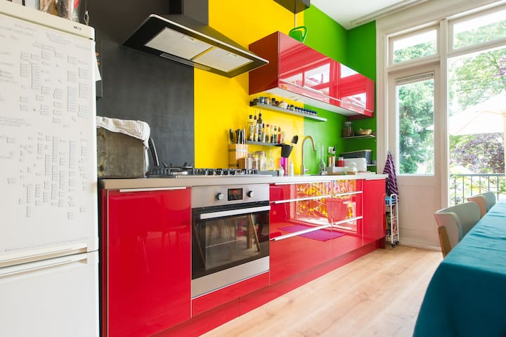 Colorful City apartment - Amsterdam - Apartment