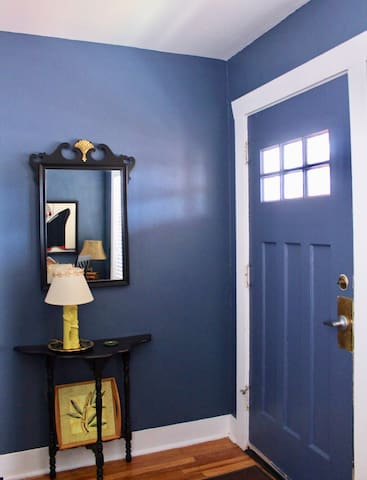 A serene entry to a novel space. Come in!