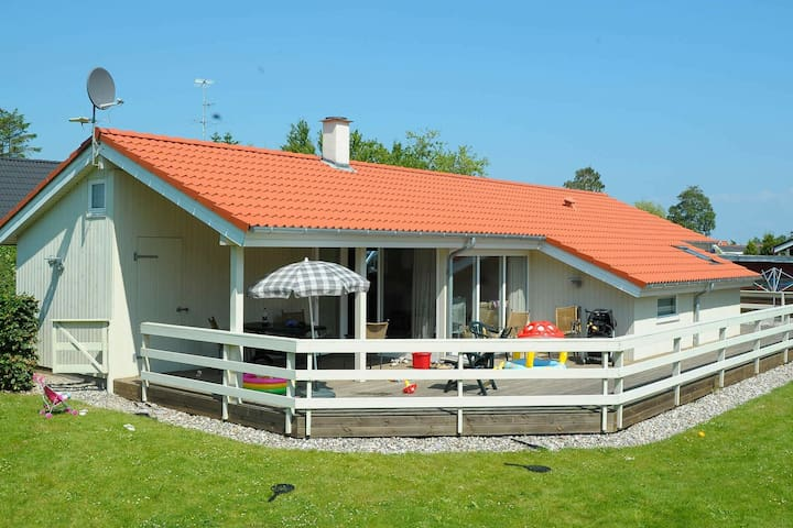 Spacious Holiday Home in Børkop with Indoor Whirlpool