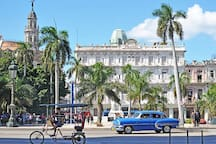 Central Park!! Place you can not miss during your trip to Cuba