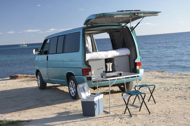Camper Benja Caravelle vacaciones diferentes!