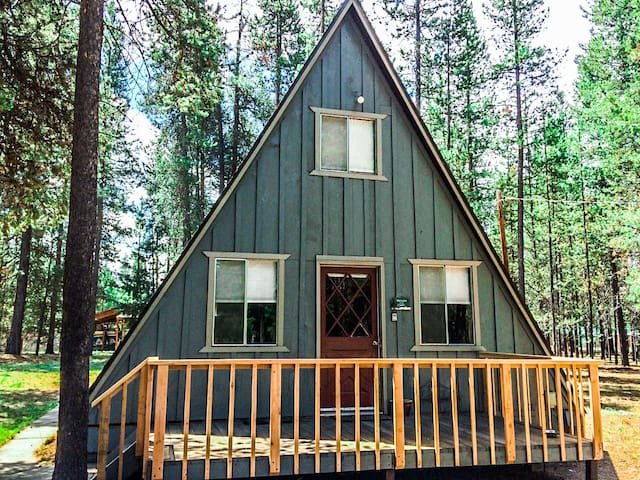 Tall Pines Guest House comes with rental canoe