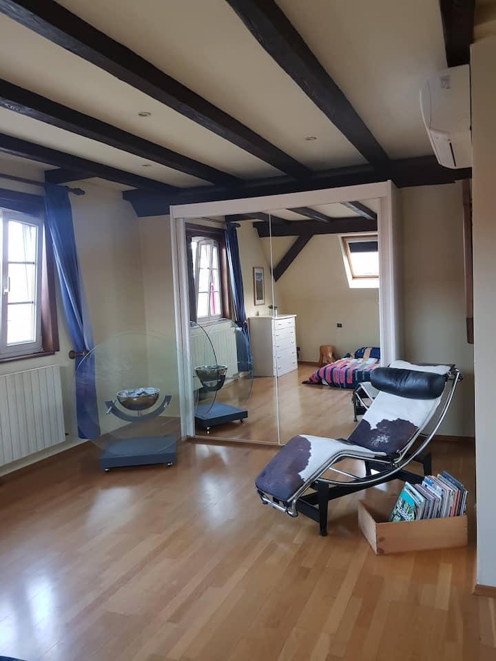 Petit appartement 50m2 climatisé