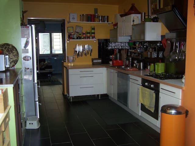 cuisine à laquelles vous pouvez accéder si vous souhaitez préparer vos repas.