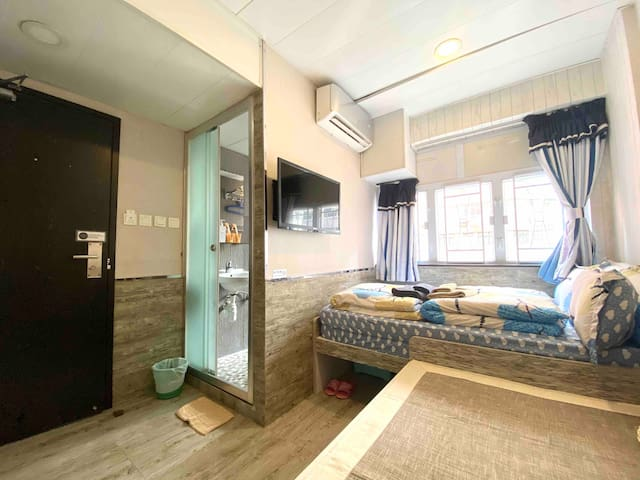 <Monthly$7500!>Bright Family Room in Tsim Sha Tsui