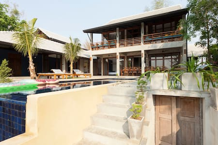 2 Ping Pool Villas - combined -10BR - Чиангмай - Вилла