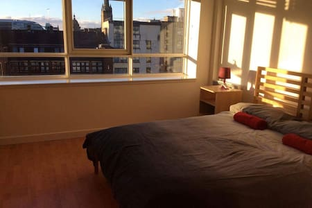Stunning 1 Bed Apartment, City Center - Glasgow