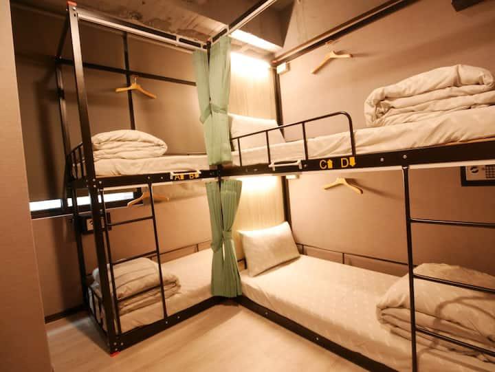 Ximen MRT | 想交外國朋友?來男生宿舍房 | Male Dorm