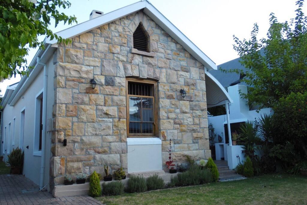My warm stone cottage