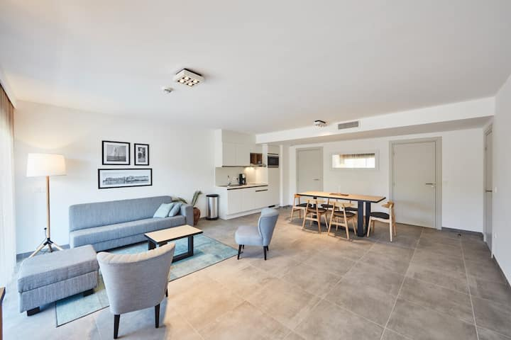 New deluxe suite for 6 people with 2 bedrooms
