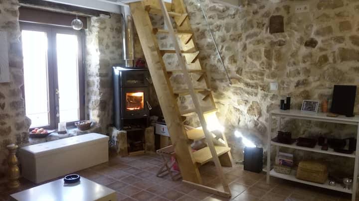 Antiguo Pajar reconvertido en apartamento.
