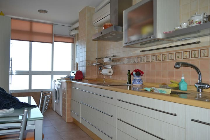 Apartamento amplio y luminoso