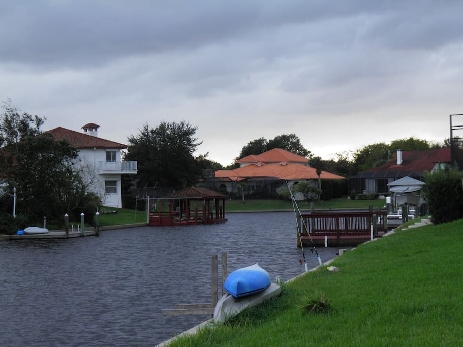 Another view of canal
