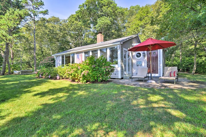 NEW! Lakefront Mashpee Home w/ Kayak & Fire Pit!