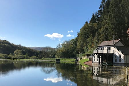 The Boathouse at the Fisheries, Afonwen, N. Wales