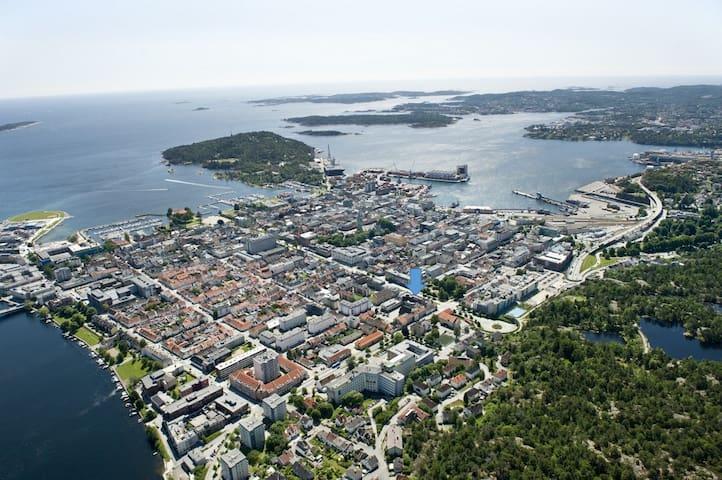 Koselig Sørlandsleilighet m/ Garasjeplass