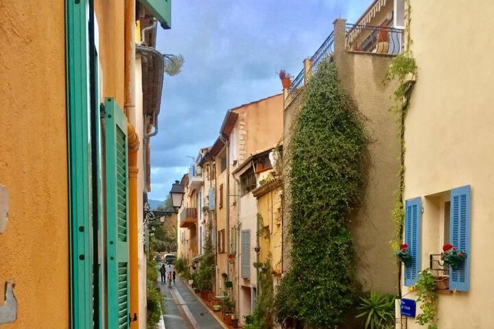Appart 2 pieces Vieux village Mouans Sartoux