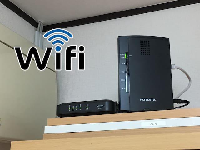 WiFiが無料 Free WiFi