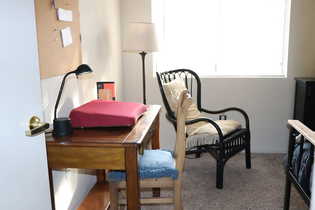 Desk in Bedroom