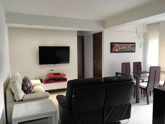 Habitación, Pinares Campestre con Parqueadero. - Pereira - Apartment