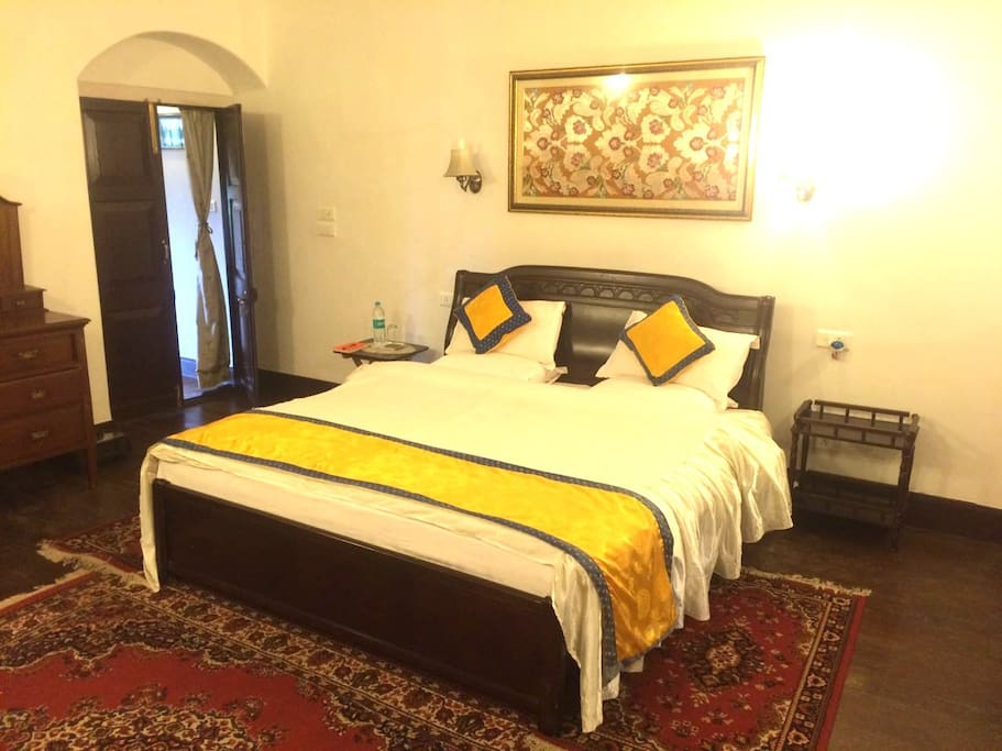 Your bedroom in the estate