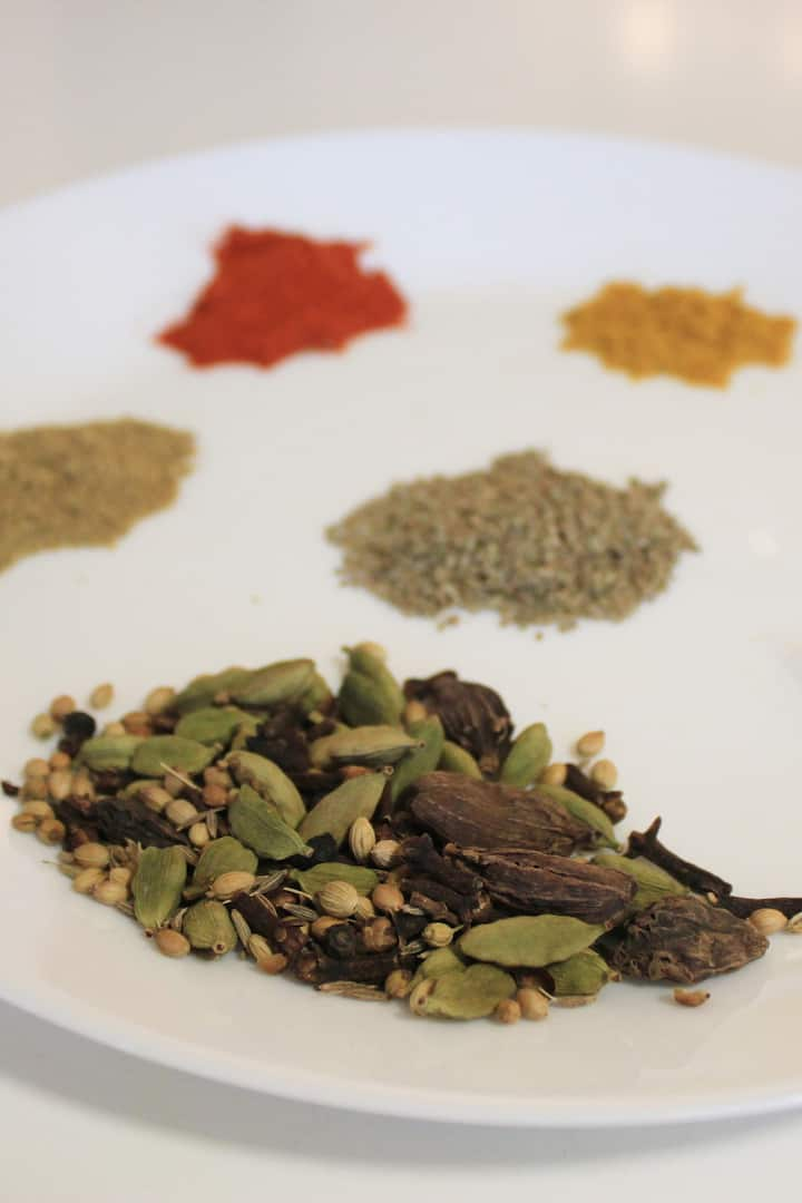 Spices Used In An Indian Kitchen.