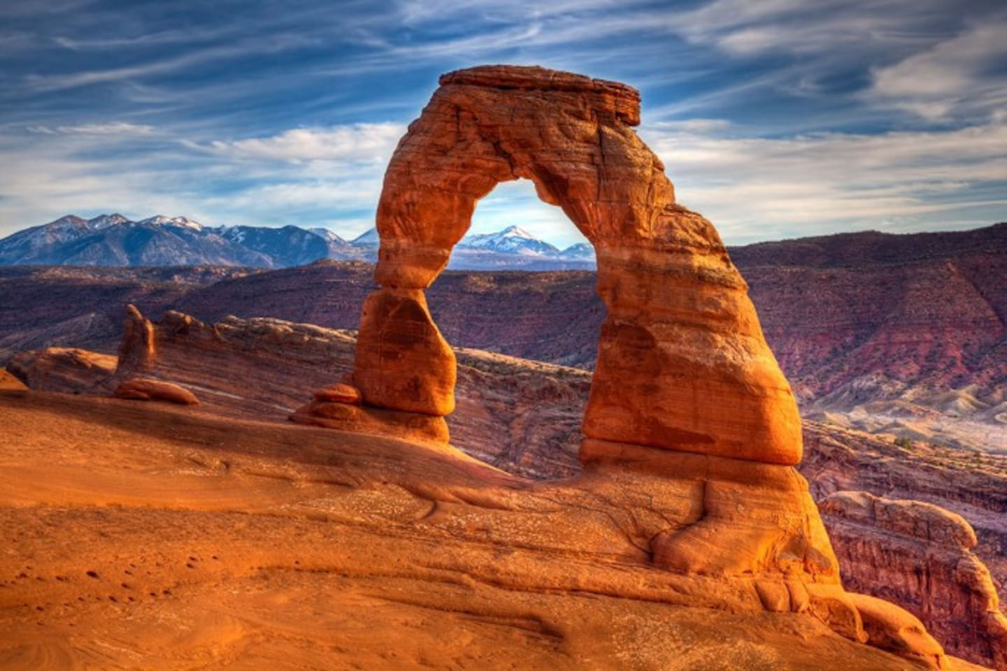"""Famous """"Delicate Arch"""" in Arches National Park"""
