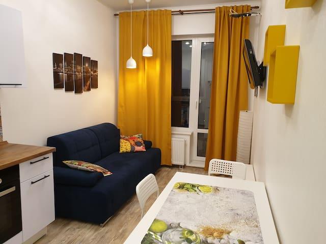 Яркая видовая квартира в Изумрудных Холмах 25 этаж