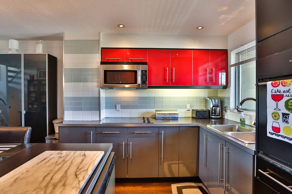 Beautiful updated kitchen for all your culinary needs