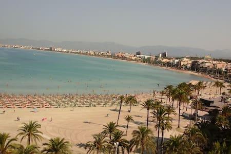 140 beachfront apartament at playa de palma. - Palma - Appartement