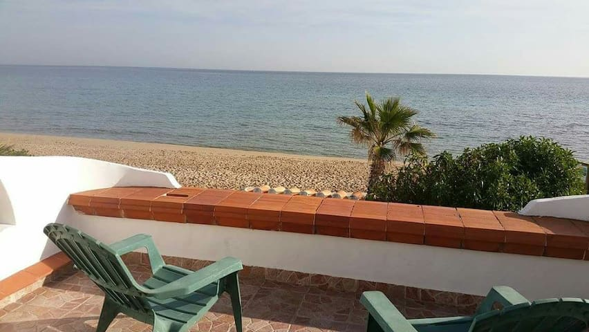 Apartamento frente al mar 1a linia. - El Baix Camp - Apartemen