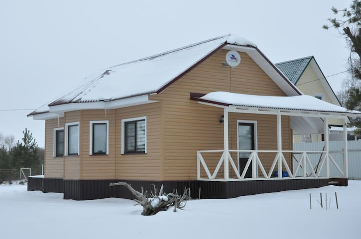 Гостевой Дом в стиле прованс - Glazovo - Natur lodge