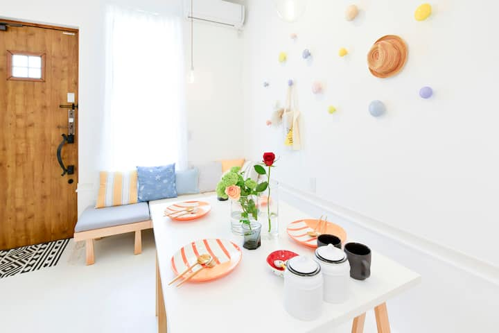 Kyoto onestop Tofukuji dormitory MIX room E(max 8)