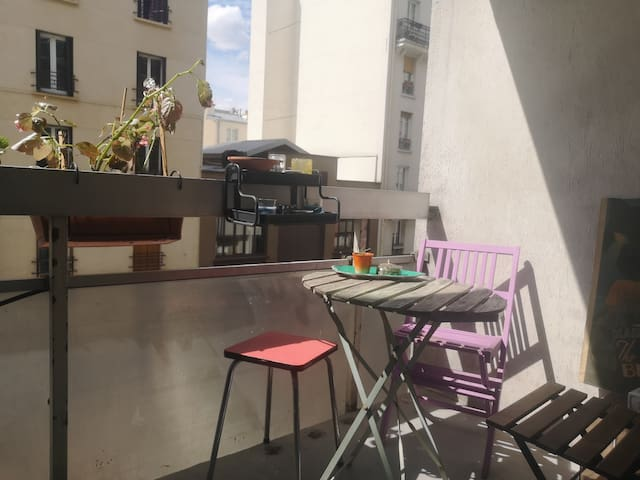 Cool and cosy studio near Montmartre