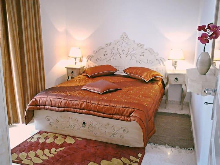 Bel appartement S+1  300 m de la mer Hammamet nord
