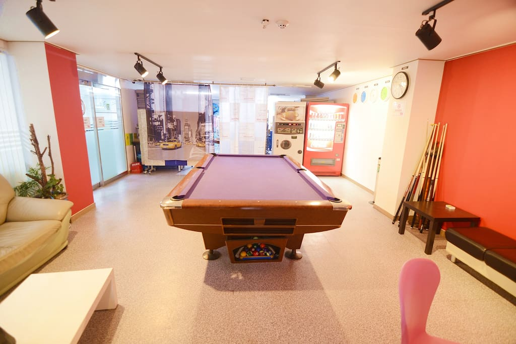 Common Area with Pool Table