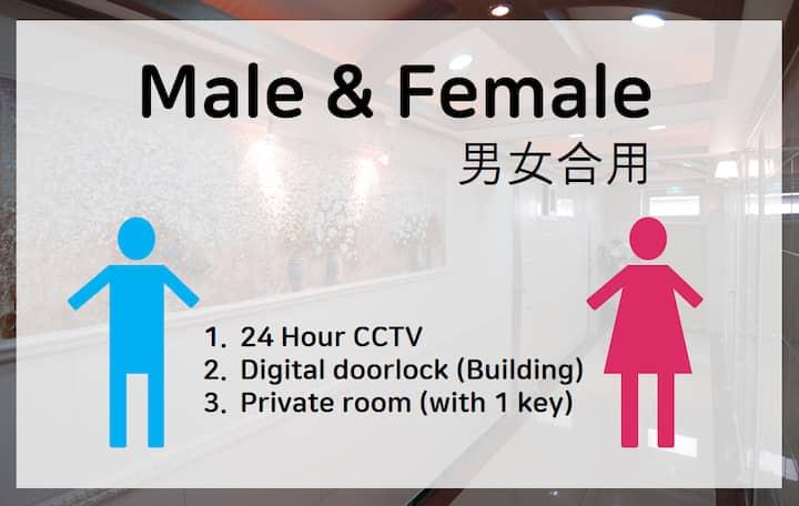 Sinsa stn Private room(425) and private bathroom